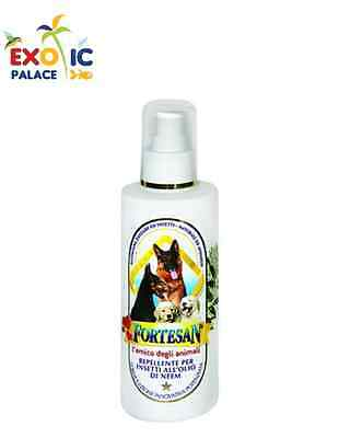 Spray Insetto Repellente Naturale Olio Di Neem Per Cane Gatto Antiparassitario