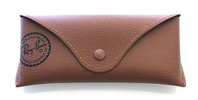 Ray Ban Custodia Case Fodero Brown Small  Marrone Occhiali Bag Astuccio Box