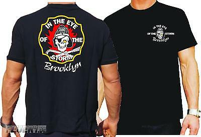 T-Shirt black, In The Eye Of The Storm, Brooklyn, New York City