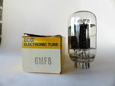 Philips ECG Röhre 6MF8 , Vacuum Tube , Beam Power Triode