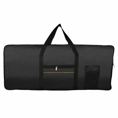 Portable 61-Key Keyboard Electric Piano Padded Case Gig Bag Oxford Cloth WS
