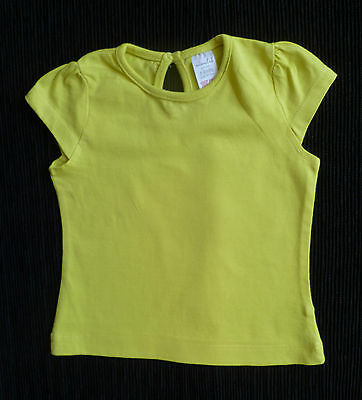 Baby clothes GIRL 6-9m NEW! Miniclub green-yellow short sleeve t-shirt SEE SHOP