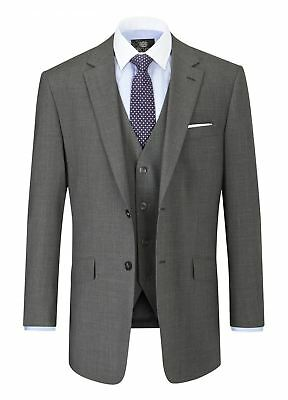 SKOPES Wool Rich Darwin Grey Suit Jacket in Size 34 To 62, S/R/L