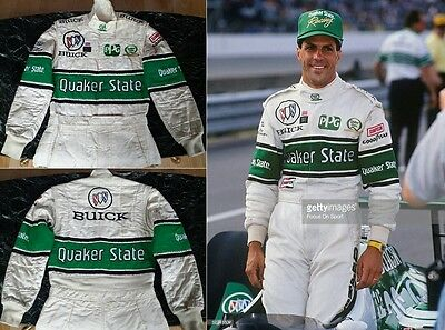 Original race used suit 1992 Roberto Guerrero Indy 500 Pole position Buick