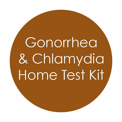 GP Home STI STD Screening Kit Pack - Chlamydia & Gonorrhoea Tests Male & Female