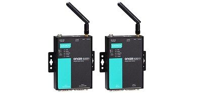 Moxa OnCell G3251 2 ports Quad-band industrial GSM/GPRS IP gateway, RS-232/422/4