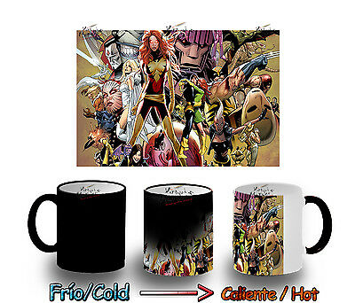 TAZA MAGICA X MEN FENIX MARVEL MAGIC MUG tasse es