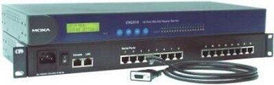Moxa CN2510-16-48V 16 port Terminal Server, single 10/100M Ethernet, RS-232, RJ-