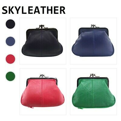 Women's Clutch Mini Wallet Genuine Leather Purse Coin Holder Case Bag Skyler