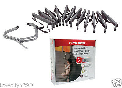 First Alert Two-Story 14 Foot Escape Ladder EL52-2  NEW!!