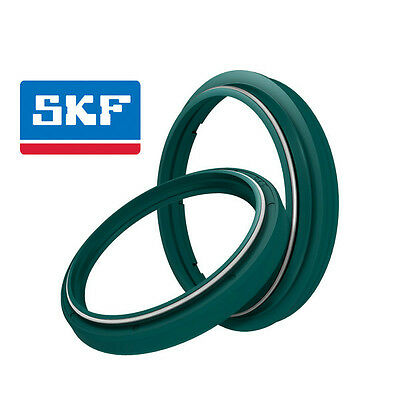 Skf Kit Revisione Forcella Paraolio + Parapolvere Fork Seal Oil Ktm Exc 520 2002