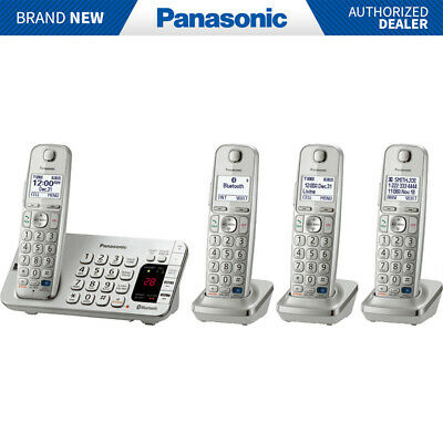 Panasonic KX-TGE274S DECT 6.0 Link2Cell Bluetooth Cellular Convergence Solution