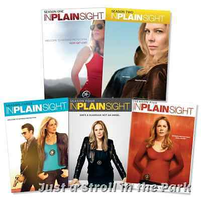 In Plain Sight Complete TV Series Seasons 1 2 3 4 5 Boxed / DVD Set(s) NEW!