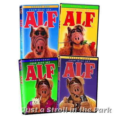 ALF Complete TV Series Seasons 1 2 3 4 Boxed / DVD Set(s) NEW!