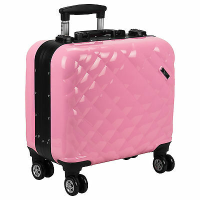 Professional Lighted Rolling Makeup Case, Carry On, TSA Luggage Locks by Ver
