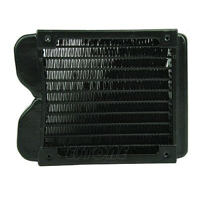 Aluminum G1/4 Computer Radiator Water Cooling Cooler 120mm For LED CPU Heatsink