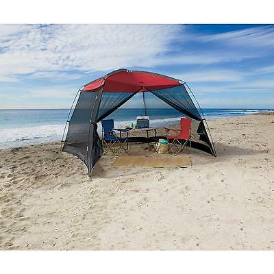 10 x 10 Screen House Beach Tent Gazebo Carry Bag Canopy Tailgating Party Family