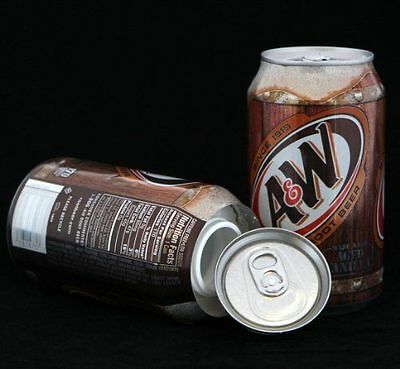 A&W Root Beer Stash Diversion Safe Can New - ST