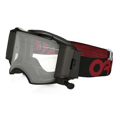 Oakley AIRBRAKE MX B1-B Red Black SPEED ROLL-OFF Lens Dirt Bike Motorcros