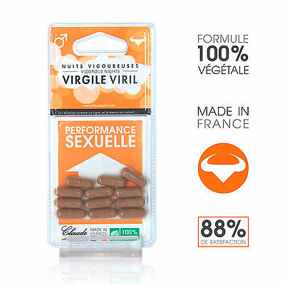 Aphrodisiaques Provocateur D'érection Virgile Viril X 12 - CLAUDE APHRODISIACS