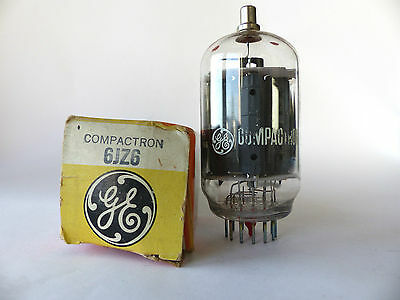 General Electric Röhre Compactron 6JZ6 , Vacuum Tube ,  Beam Power Tube