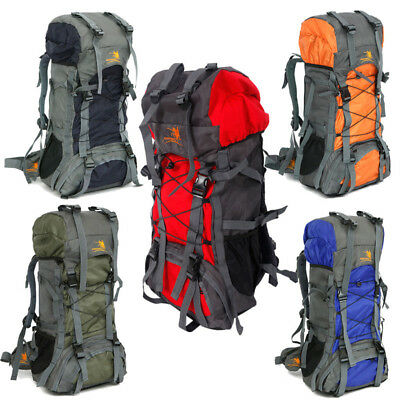 008--Camping Travel Rucksack Mountaineering Outdoor Backpack Hiking Backpack 60L