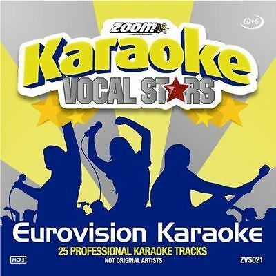 Zoom Karaoke - Eurovision Song Contest Vocal Stars Series 21 [Wallet] (CD+G) Neu