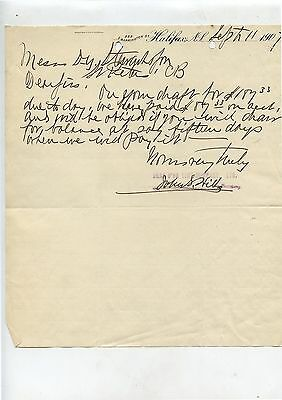 Old 1907 Bras D'or Lime Company Halifax NS Letterhead