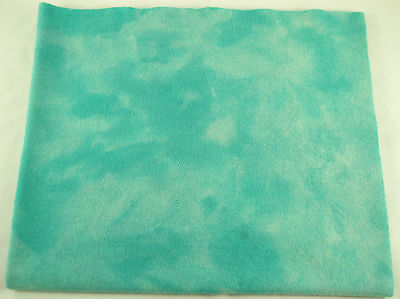 """HAND DYED RUG HOOKING WOOL Over-Dyed ~ """"TURQUOISE JEWELRY (A)"""""""