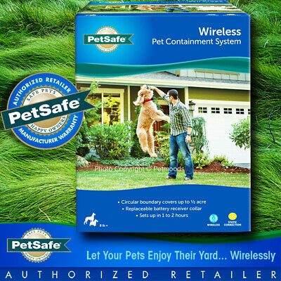 PIF-300 PetSafe Portable Instant Wireless Dog Fence Containment 1/2 Acre System