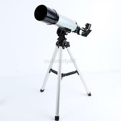 150x Zoom Monocular Refractive Astronomical Telescope 50mm Aperture High Quality