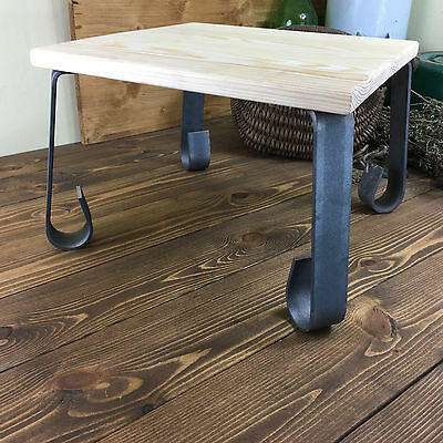 DIY Metal Leg Straight Forged Rustic Table Chair Leg Square HANDMADE