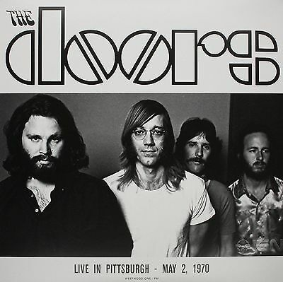 "The Doors - Live In Pittsburgh  May 2 1970 - 2 x 12"" LP FACTORY SEALED"