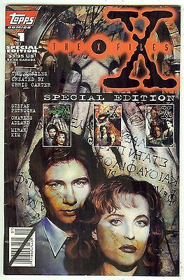 THE X FILES Special Edition #1 (1995 Topps USA) 80 pages