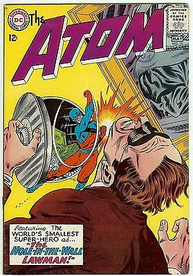 The Atom #18 (DC 1965; vf- 7.5) Price guide value in this grade: $48.00 (£39.00)