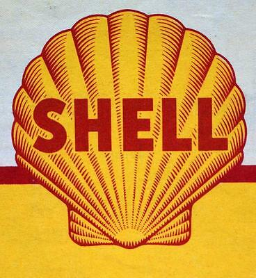Shell Oil Service Station Wisconsin Highway Road Map 1946 Vintage Travel