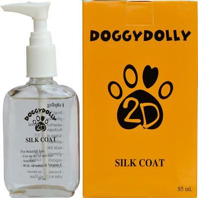 (17,47€100ml)  DoggyDolly Silk Coat - Seiden-Fellpflege Hunde Hundepflege 85 ml