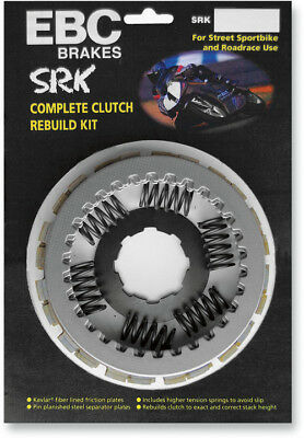 EBC Street Racer Complete Clutch Kit Aramid Frictions/Steels/Springs SRK81