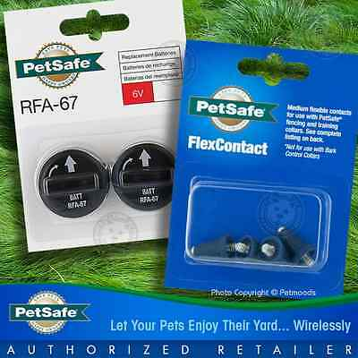 Twin Pack PetSafe 2 Batteries RFA-67, FlexContact PAC00-12122 - PIF-300, PIF-275