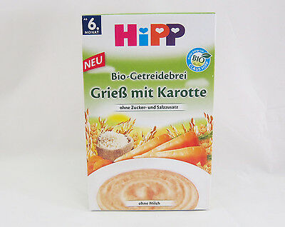 HiPP Oats with Carrot -ORGANIC - 200g- Lactose Free