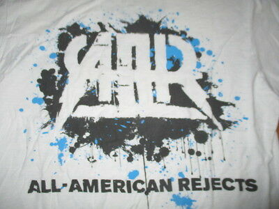 2012 THE ALL-AMERICAN REJECTS Concert Tour (MED) T-Shirt WHITE