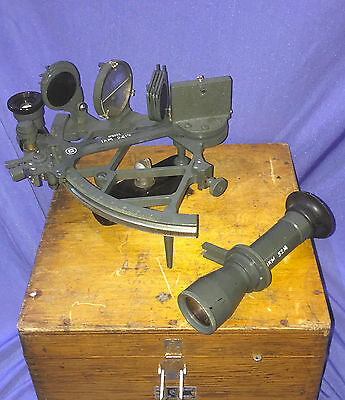 Vintage Russian USSR Marine NAVY Sextant 1965