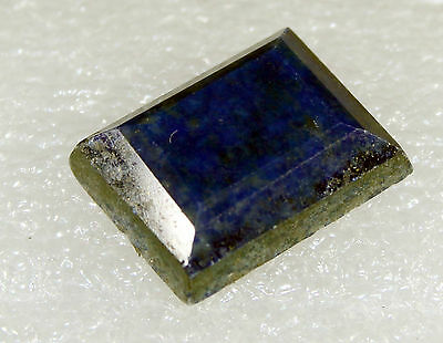 Lapis Lazuli faceted Stone, 19 x 15mm 19ct LA-21