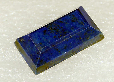 Lapis Lazuli faceted Stone, 24 x 12mm 22.5ct LA-25