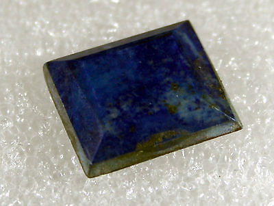 Lapis Lazuli faceted Stone, 18 x 16mm 16ct LA-27