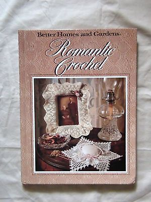 BETTER HOMES and GARDENS ROMANTIC CROCHET