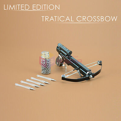 *LIMITED EDITION* NEWEST 2IN1 Mini Pocket Crossbow Toy Made by Aviation Aluminum