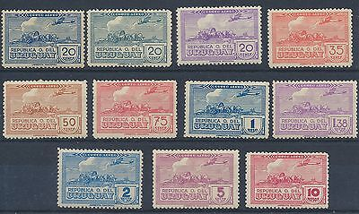 Uruguay 1939 Air Mail MM Scott C93-C105