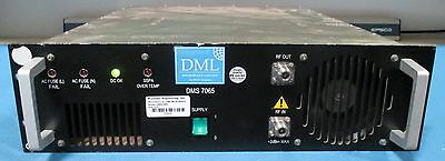 DML Microwave DMS-7065 High Power Amplifiers for Intermodulation Testing