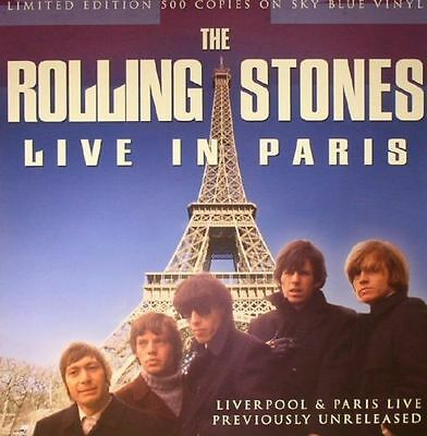 The Rolling Stones 'Live In Paris' - LTD 500 ONLY LP NEW & SEALED / blue vinyl